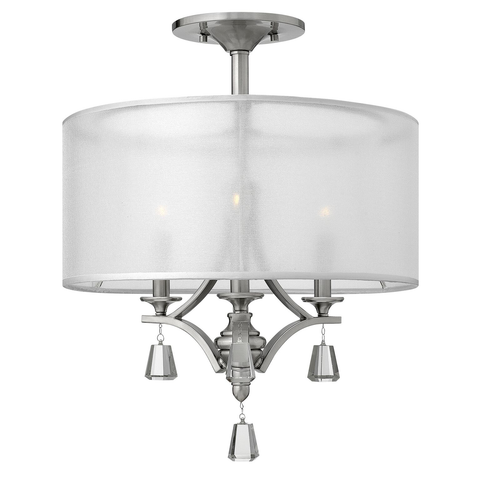 Mime 3 light Semi Flush