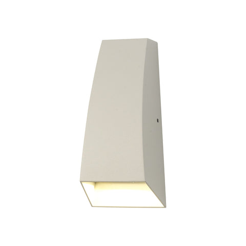 Jackson Wall Lamp, 6W LED, 3000K, 420lm, IP54, Sand White, 3yrs Warranty