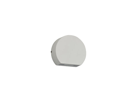 Lucina Wall Light 3W LED 3000K, Sand White, 270lm, IP54, 3yrs Warranty