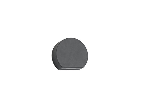 Lucina Wall Light 3W LED 3000K, Anthracite, 270lm, IP54, 3yrs Warranty