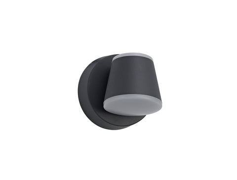 Oahu Wall Light 12W LED 3000K, Anthracite, 590lm, IP54, 3yrs Warranty
