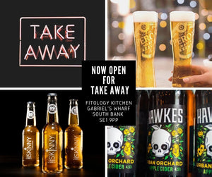 We made the list ......TakeAway Draft Beer - London Southbank SE1