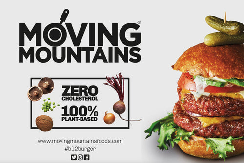 PLANT BASED - MOVING MOUNTAIN BURGER