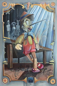 Pinocchio Lights up / Size A5