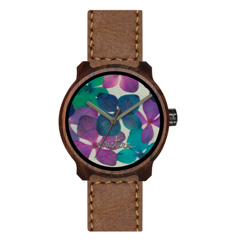 Wood Flowers Watch Marco XL - Relojes y Gafas Mistura Fento Colombia