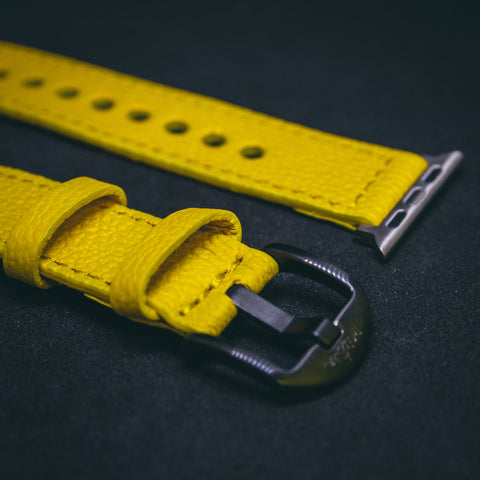 Mistura Watch / Apple Watch STRAPS  YELLOW
