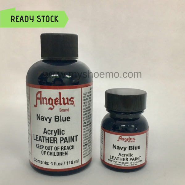 Angelus Leather Paint - Navy