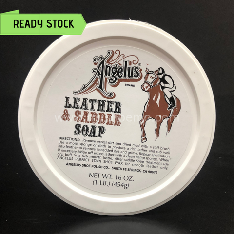 Angelus Leather & Saddle Soap