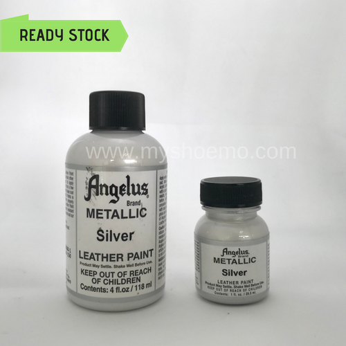 Angelus Leather Paint - Metallic Silver