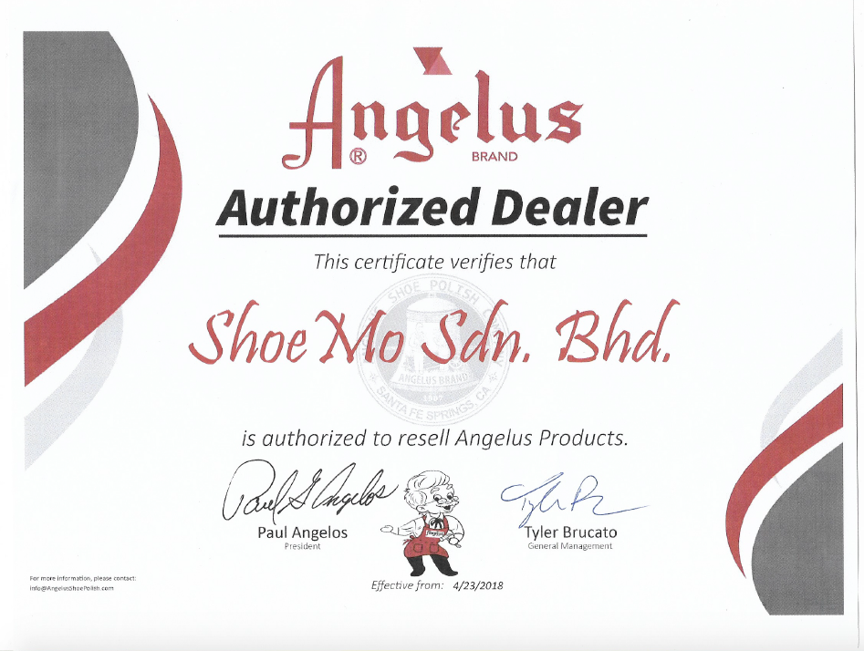 Angelus Leather Paint - Flat Black