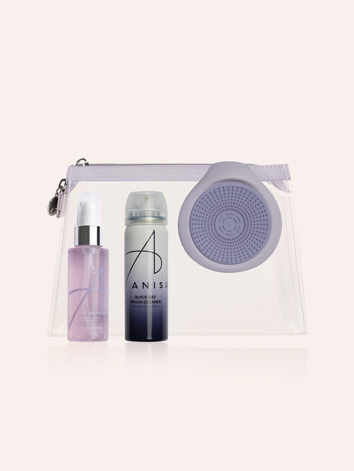 Wash & Dry Brush Cleaning Kit purify ANISA Beauty