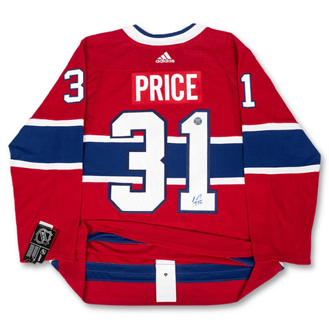 Carey Price Autographed Authentic Adidas Jersey 65ec22549