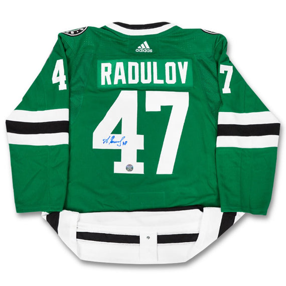 the best attitude 2c024 3a9fe Alexander Radulov Autographed Authentic Adidas Jersey ...