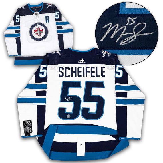 e77e3540f Mark Scheifele Autographed Authentic Adidas Jersey