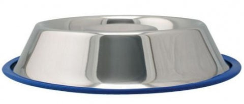 Advance Pet Products Stainless Steel Slow Feeding Dog Bowl