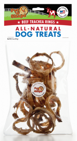 Pet N Shape Beef Trachea Rings