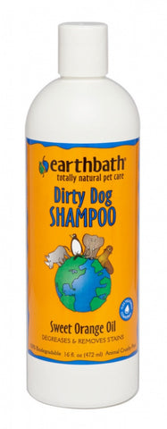 Earthbath Dirty Dog Sweet Orange Oil Shampoo for Dogs