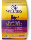 Wellness Complete Health Natural Indoor Adult Grain Free Salmon and Herring Dry Cat Food
