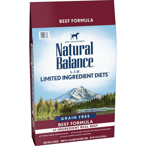 Natural Balance Grain Free Limited Ingredient Diets Beef Dry Dog Food