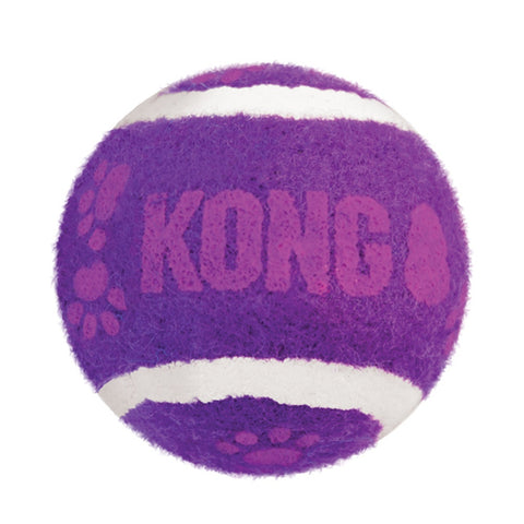 KONG Tennis Ball with Bell Cat Toy