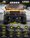 1:10 Scale Remote Control Car 48km/h+Speed|4x4 Off Road Monster Truck Electric RC Cars |All Terrain