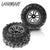 RC Car Tires Accessory Spare Parts Wheels 25-ZJ02 for Legend RC Car (2 Pcs)