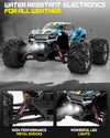 1:20 Scale RC Car 30+ km/h - Blue/Yellow