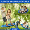 "40"" Blue Round Tree Swing"
