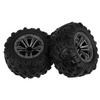 Tires / Wheels - Foam Filled - Part Number BL-ZJ02 - 2 Pieces