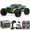 1:10 Scale Remote Control Car 65+km/h - Brushless - Blue/Yellow