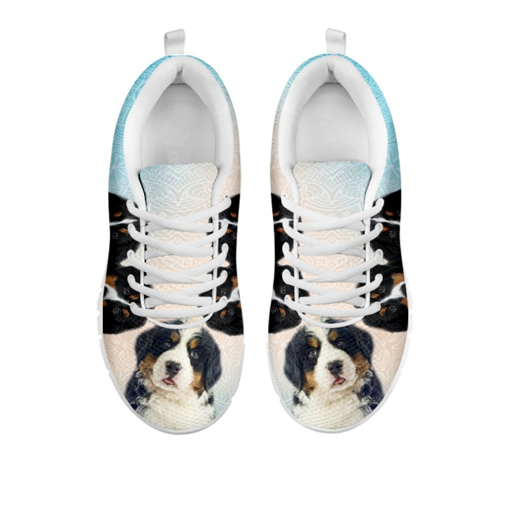 34241208a82f5 Amazing Three Bernese Mountain Dog Print Running Shoes For Women-Free  Shipping-For 24 Hours Only