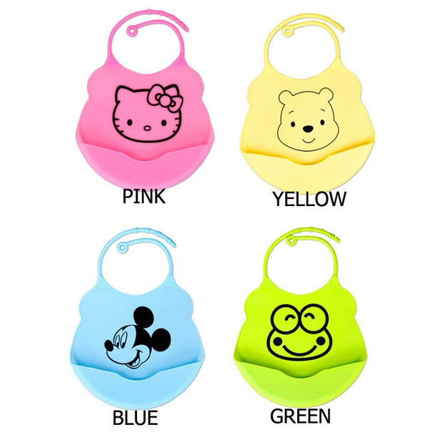 2017 Newborn Cartoon Waterproof Baby Bibs - Unique Deals