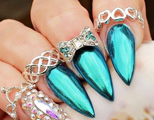Chrome Nail Powder Nail Art