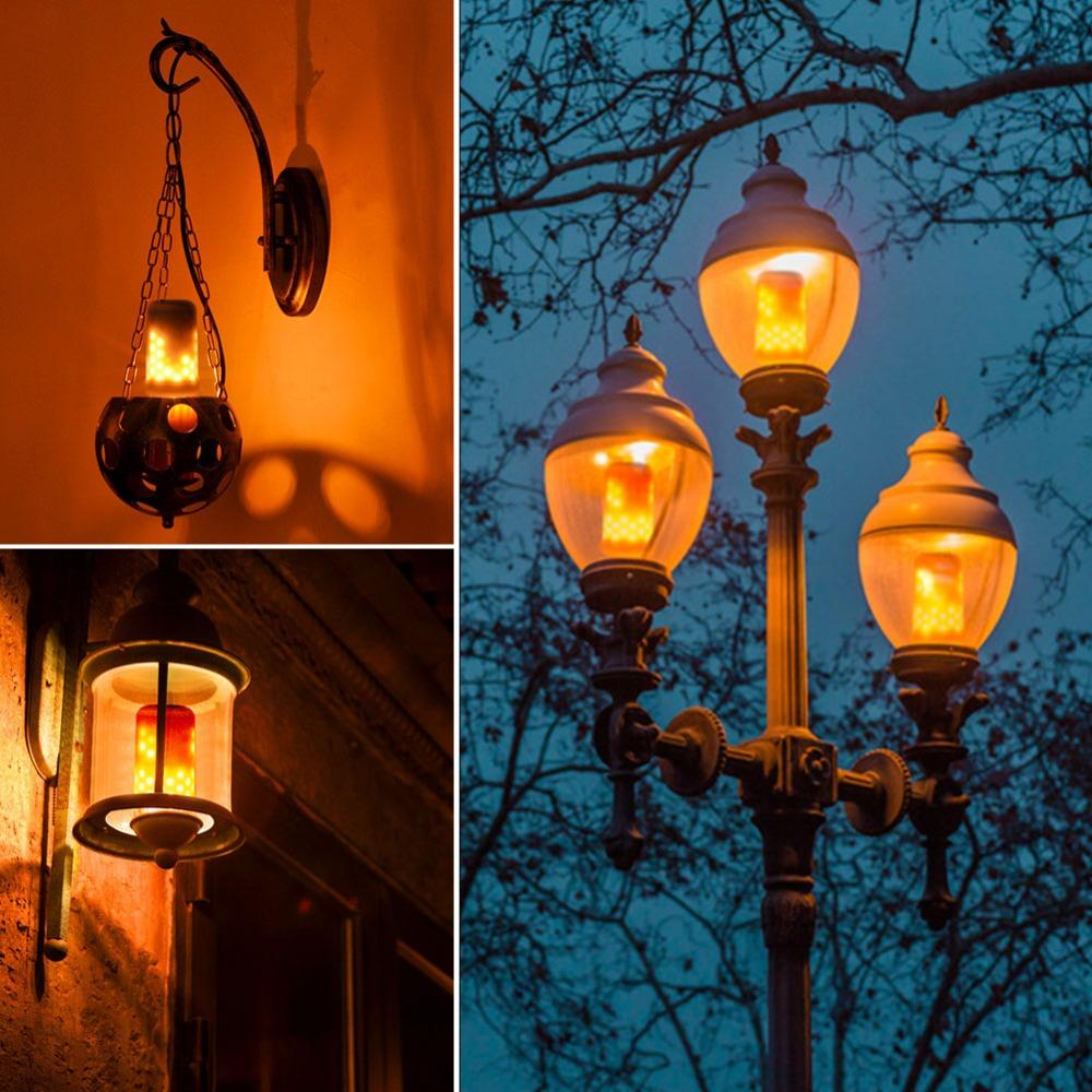 Unique Flame Lamp