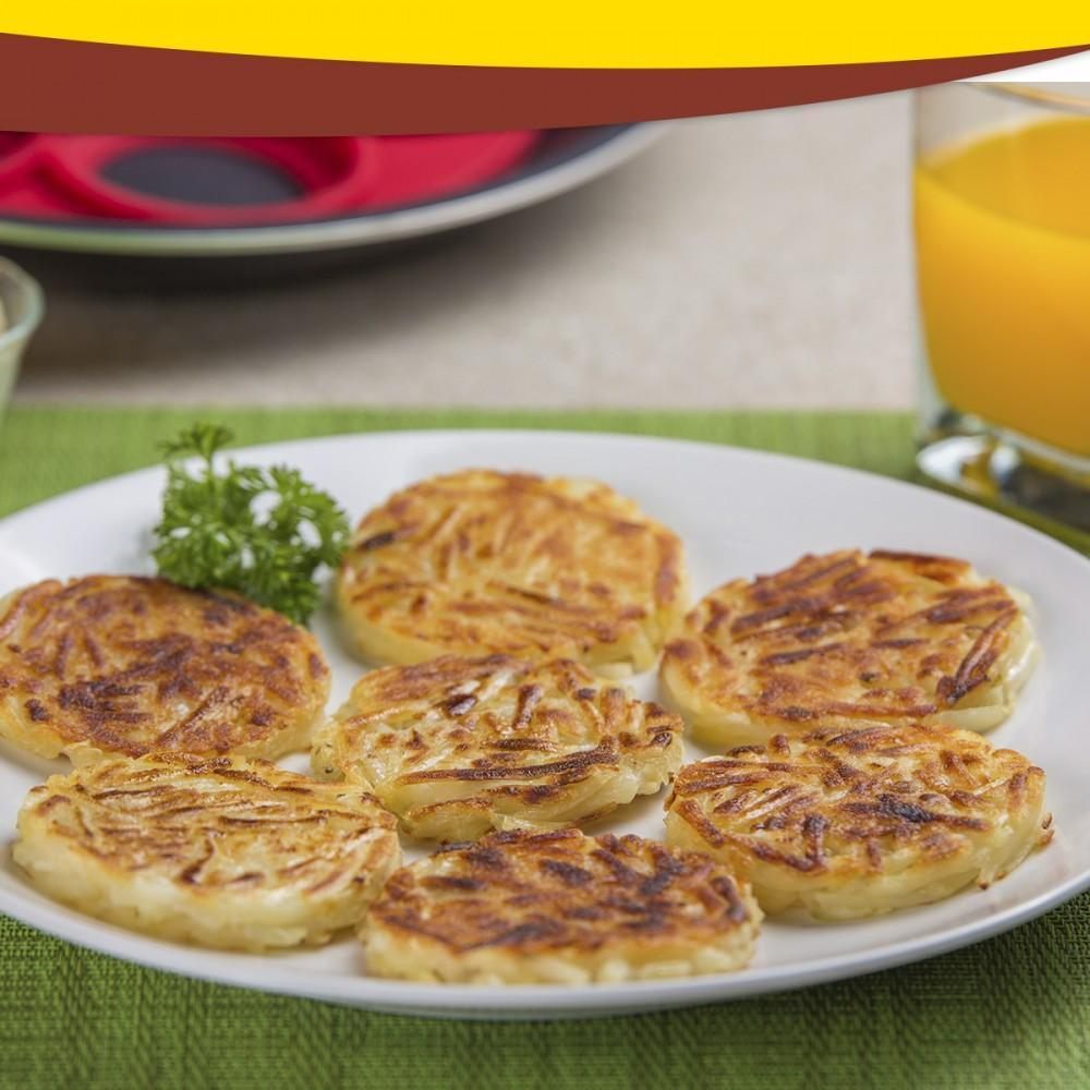 7 Cavity Flippin - Perfect Egg Omelets Hash Browns Pancakes - Unique Deals