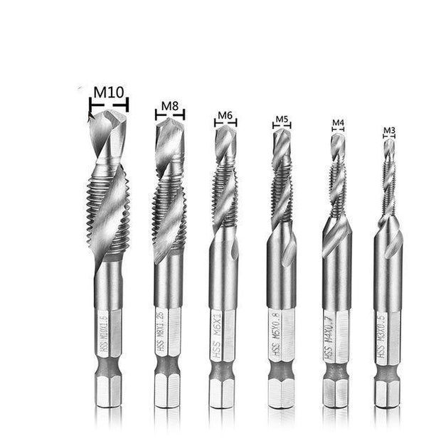 High-speed Steel Thread Spiral Screw - Unique Deals