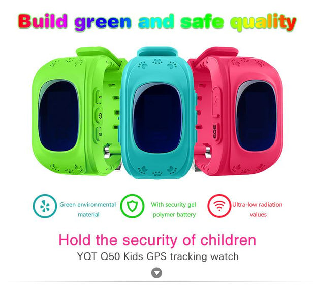 GPS Tracker Watch For Kids - Unique Deals