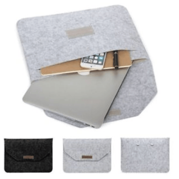 MacBook Air Pro 11/12/13/15 Wool Felt Sleeve Laptop Case Cover Bag - Unique Deals