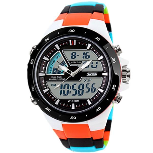 Waterproof Skmei Military Casual Watch - Unique Deals