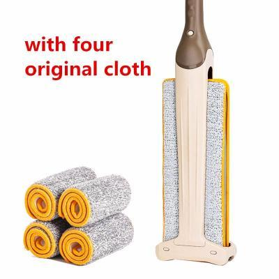 Double Sided Flat Magic Mop WITH 4 Original Cloths