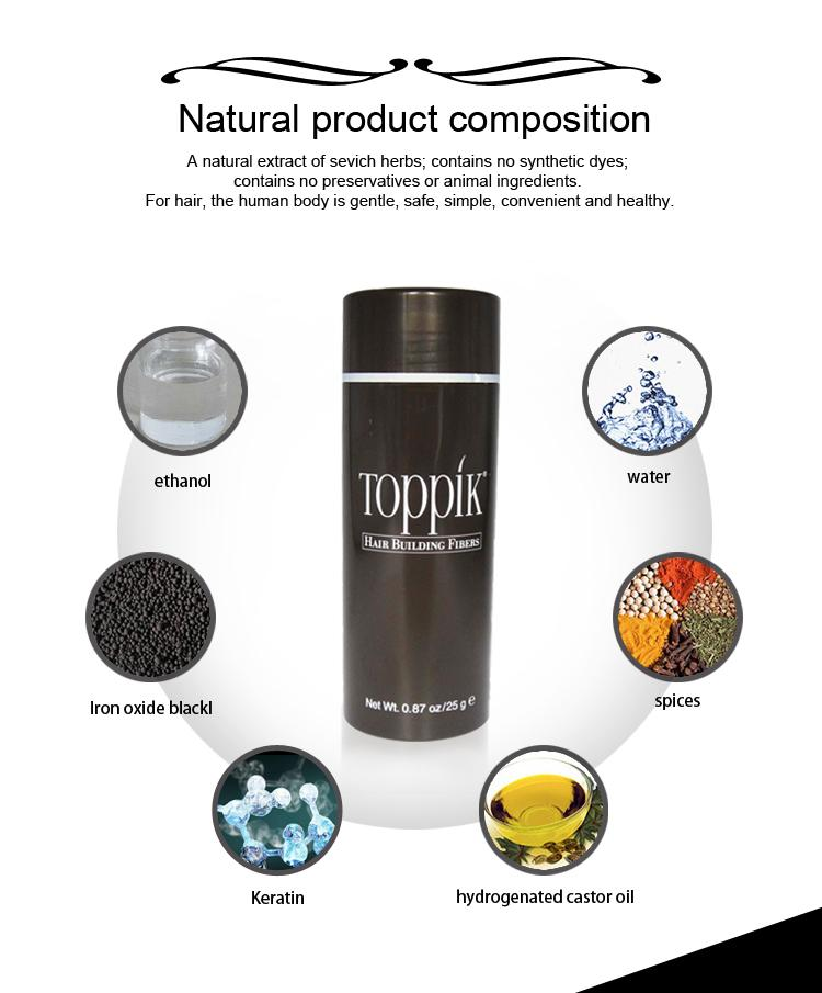TOPPIK HAIR BUILDING FIBERS (FOR MEN & WOMEN)