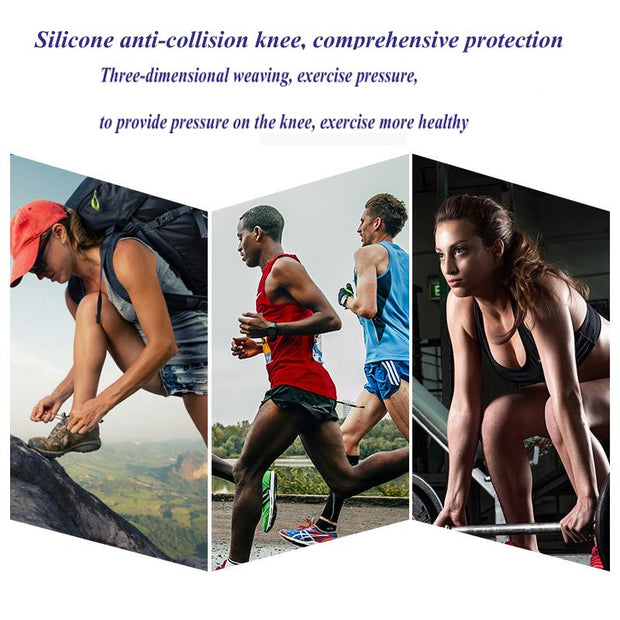 Nylon Silicon Knee Protection - Buy 2 Get 50% Off - Unique Deals