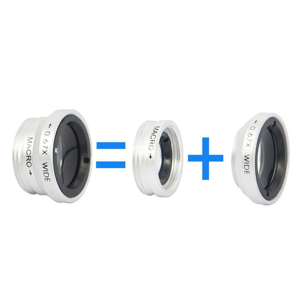 Universal Clip 3 in 1 HD Fish Eye Camera