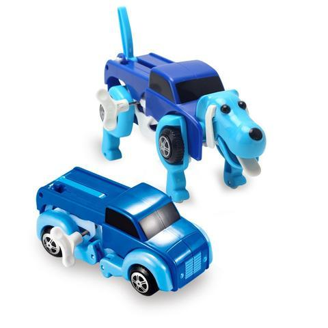 Automatic Transformer Dog Car Vehicle