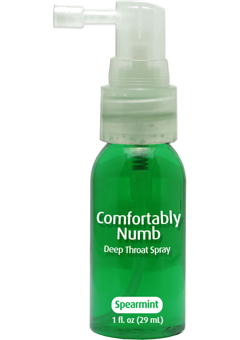 Comfortably Numb Deep Throat Spray Spearmint 1 Ounce