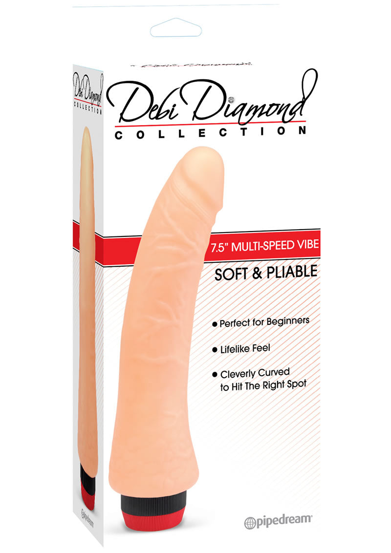 Debi Diamond Collection No 2 Vibrator 9 Inch Flesh