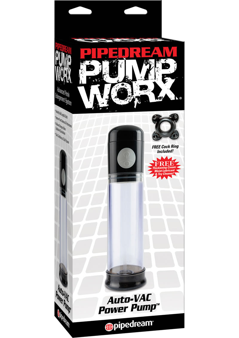 Pump Worx Auto Vac Power Penis Pump