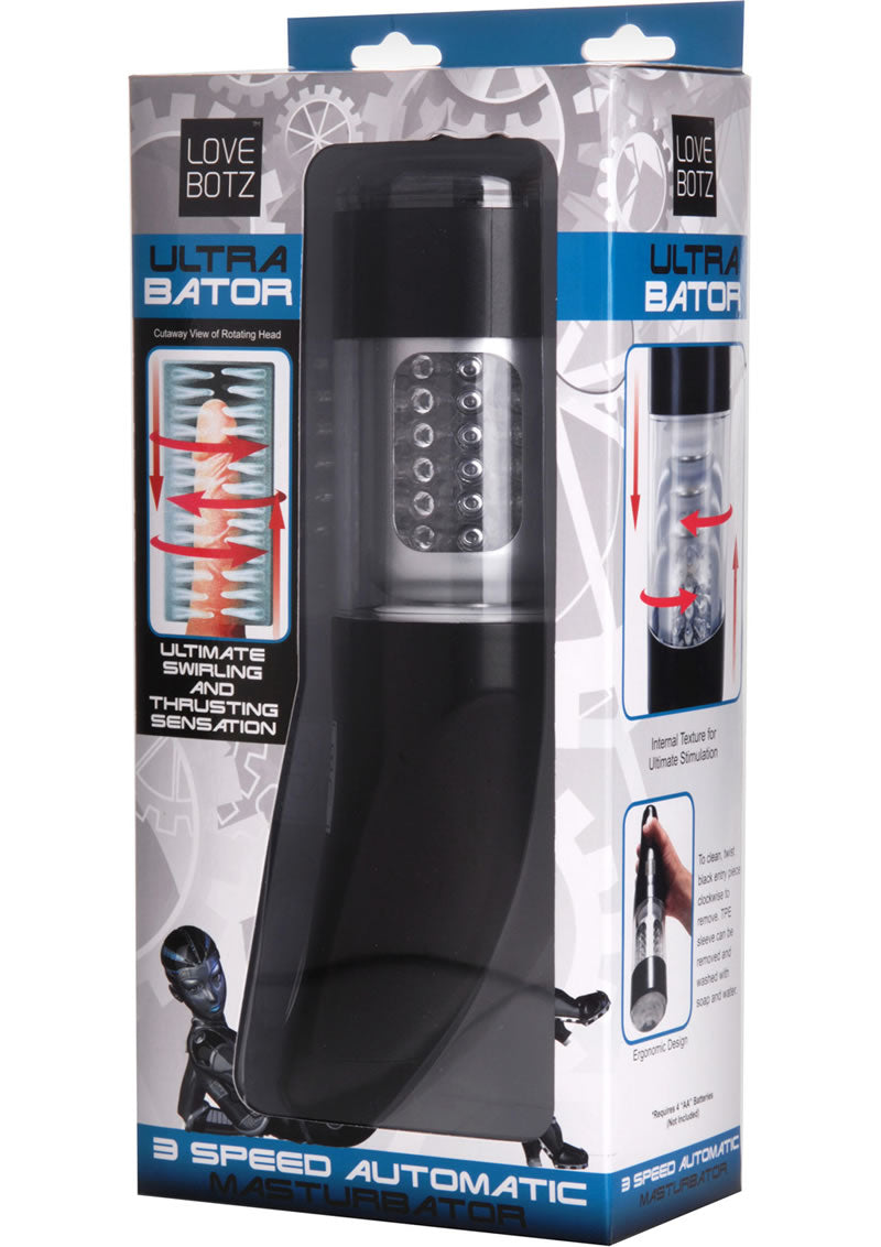 Ultra Bator Thrusting And Swirling Automatic Stroker