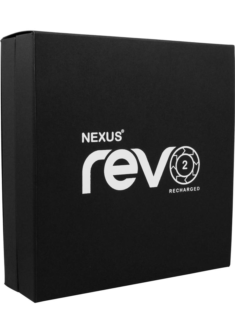 Nexus Revo 2 Recharged Silicone Rotating Prostate Massager Black