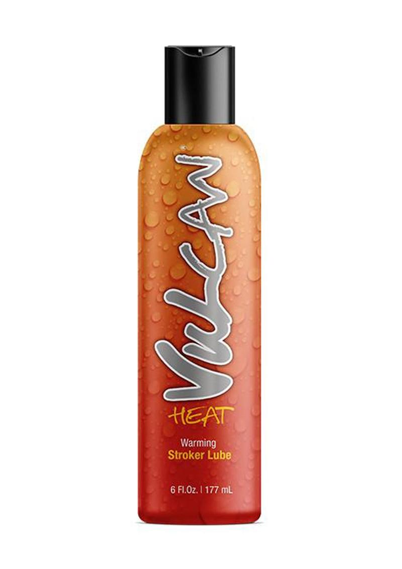 Vulcan Heat Warming Stroker Lube Water Base 6 Ounce